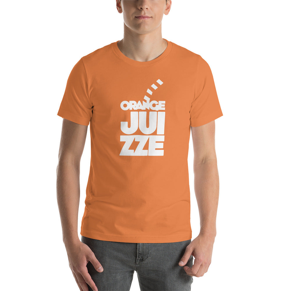 ORANGE JUIZZE - Short-Sleeve Unisex T-Shirt