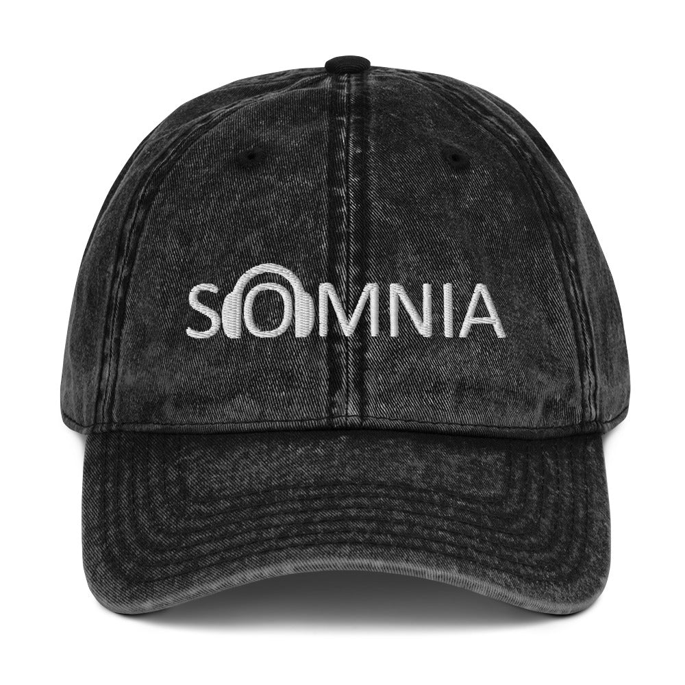 SOMNIA - Vintage Cotton Twill Cap