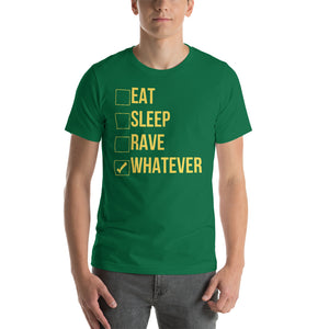 """EAT SLEEP RAVE"" - Short-Sleeve Unisex T-Shirt"
