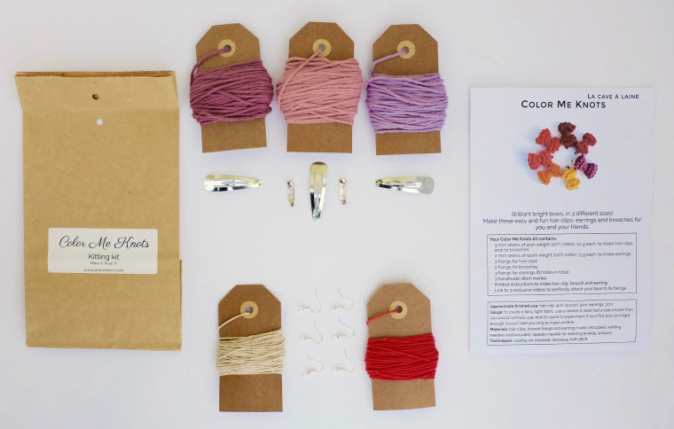 Color Me Knots Kits