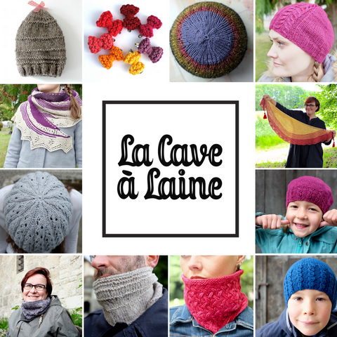 Knitting patterns by La Cave à Laine