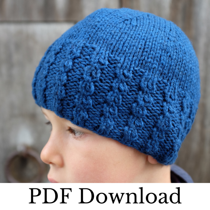 Archetipo Hat - PDF pattern download-La Cave à Laine