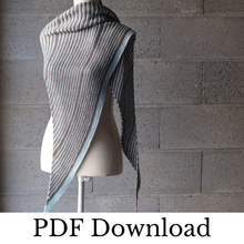 Load image into Gallery viewer, Back to Stripes - PDF pattern download-La Cave à Laine