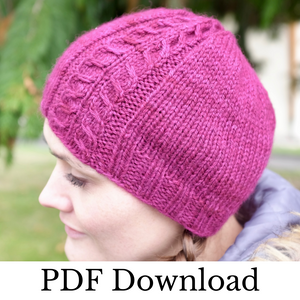 Ceretic Hat - PDF pattern download-La Cave à Laine