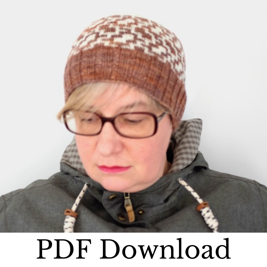 Chinotto Hat - PDF pattern download-La Cave à Laine