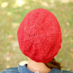 Bavarde Hat - PDF pattern download-La Cave à Laine