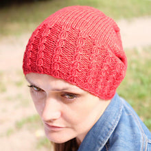 Load image into Gallery viewer, Bavarde Hat - PDF pattern download-La Cave à Laine