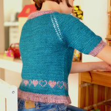 Load image into Gallery viewer, L'Écolière Sweater - PDF pattern download-La Cave à Laine