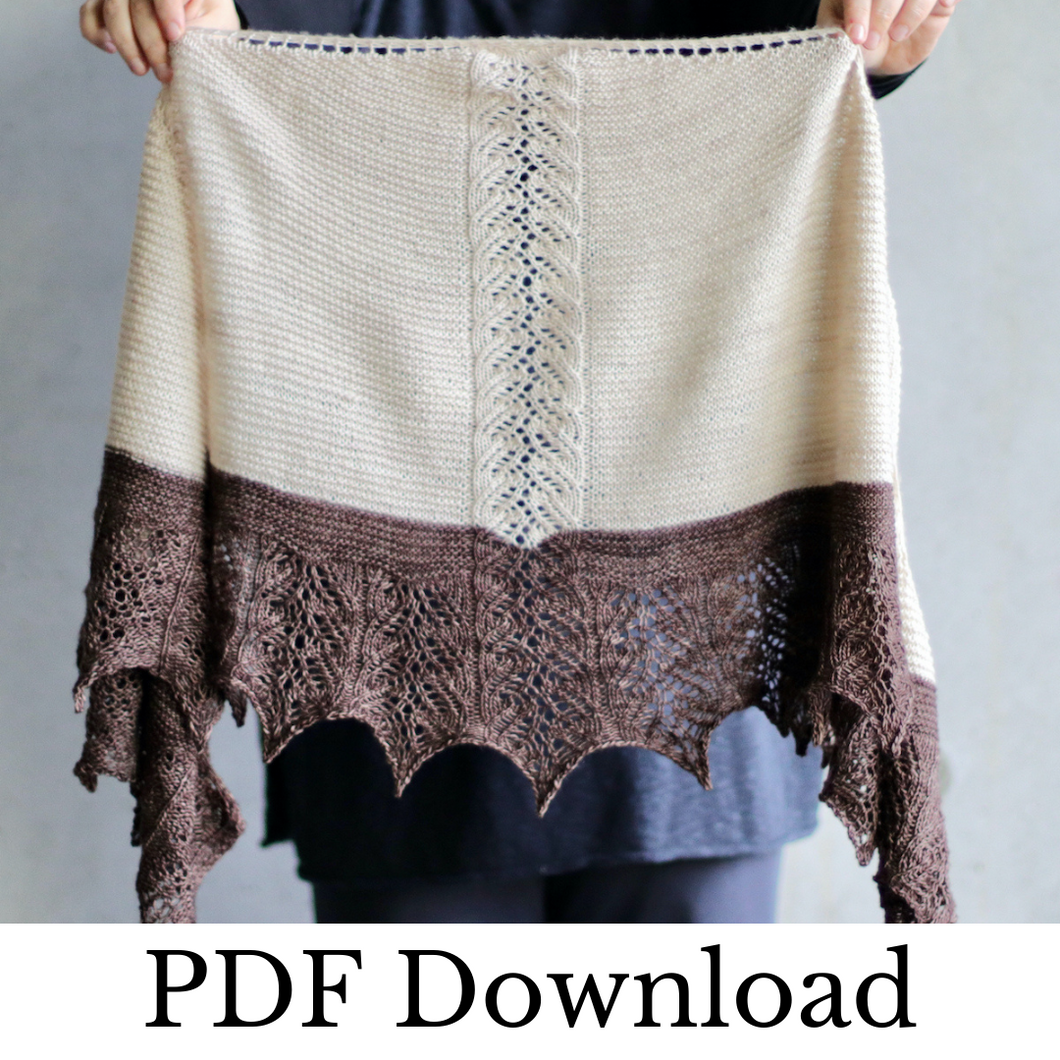 Filix - PDF pattern download-La Cave à Laine