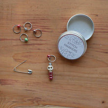 Load image into Gallery viewer, Skull Stitch Markers - White-La Cave à Laine
