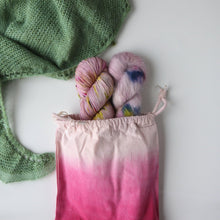 Load image into Gallery viewer, Snow Can Wait Shawl KIT - Pink & Blue-La Cave à Laine