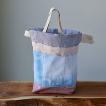 Load image into Gallery viewer, Aquarelle Project Bag, Ribbon - Hand-Dyed Organic Cotton, Rosa Antico-La Cave à Laine