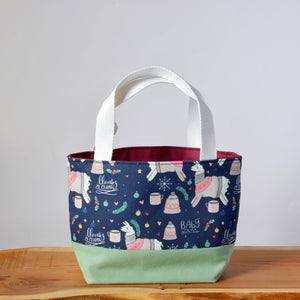 Llama Project Bag - Small-La Cave à Laine