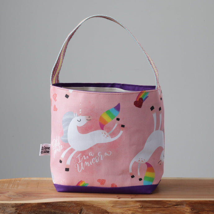 Unicorns Project Bag - Small-La Cave à Laine