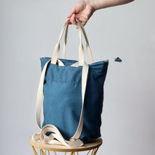 Load image into Gallery viewer, BackPack - Candy Candy Blue-La Cave à Laine