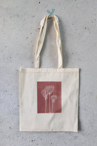 Hand Printed Tote Bag - Gortyna-La Cave à Laine