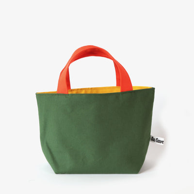 Gioia Yarn Basket - Green, Reversible-La Cave à Laine