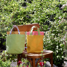 Load image into Gallery viewer, Super Gioia Project Bag - Green, Reversible-La Cave à Laine