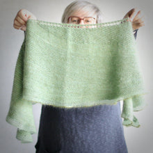 Load image into Gallery viewer, Snow Can Wait Shawl KIT - Upside Down-La Cave à Laine