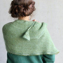 Load image into Gallery viewer, Snow Can Wait Shawl KIT - Sage-La Cave à Laine