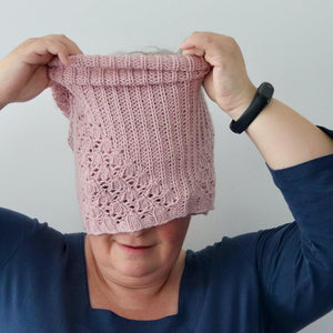 Amabilis Cowl - PDF pattern download-La Cave à Laine
