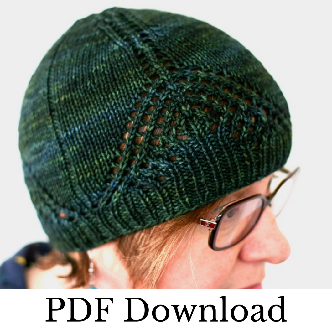 Smoak Hat - PDF pattern download-La Cave à Laine
