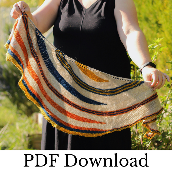 Tavolozza - PDF pattern download-La Cave à Laine