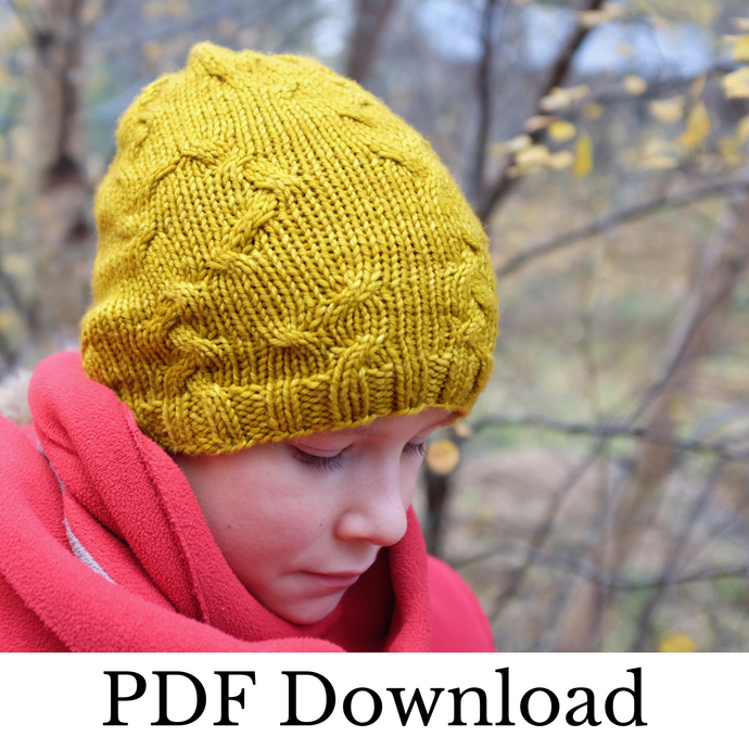 Vagabondo Hat - PDF pattern download-La Cave à Laine