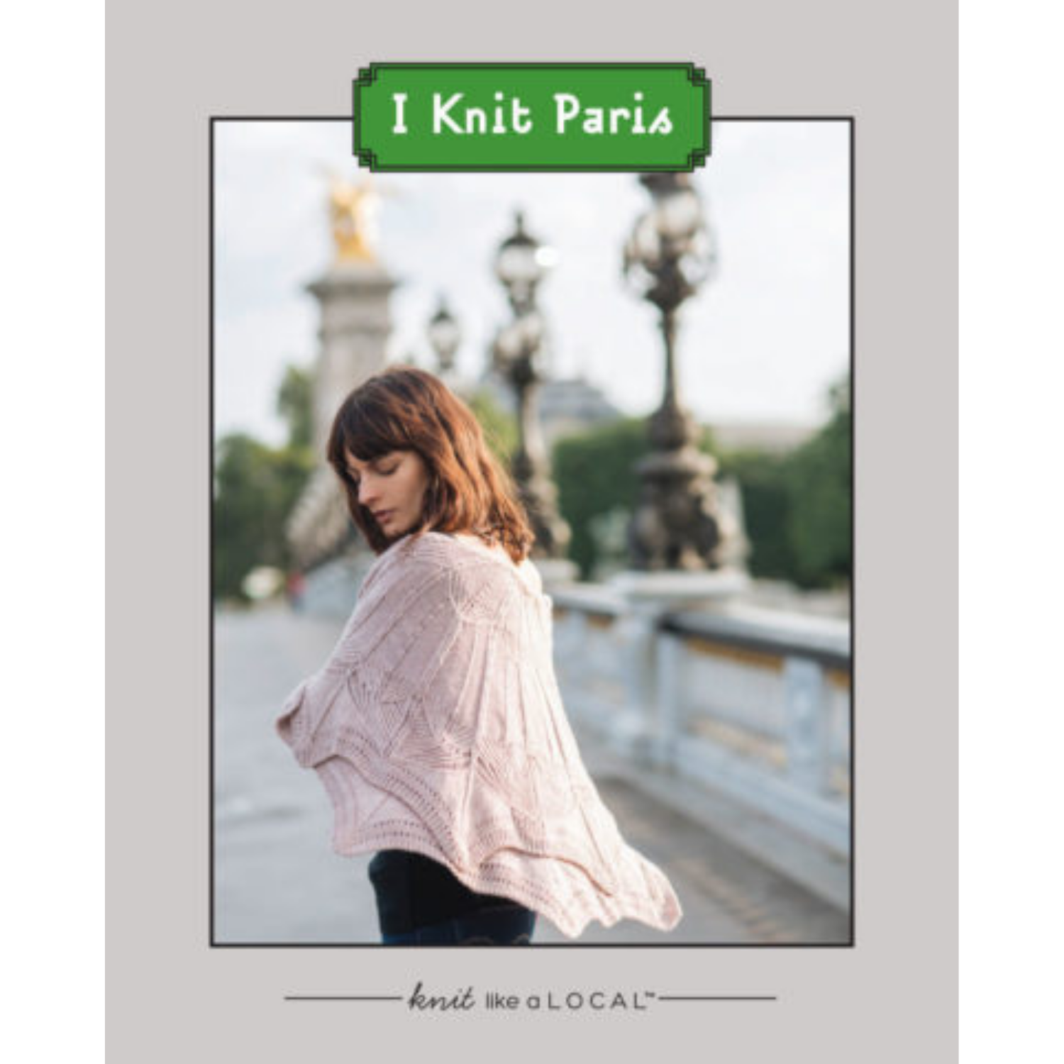 I Knit Paris - Printed Book-La Cave à Laine