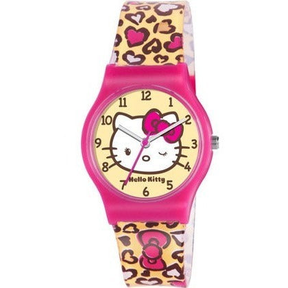 Hello Kitty Kids' Leopard Print Watch HK013 - Anielas.com
