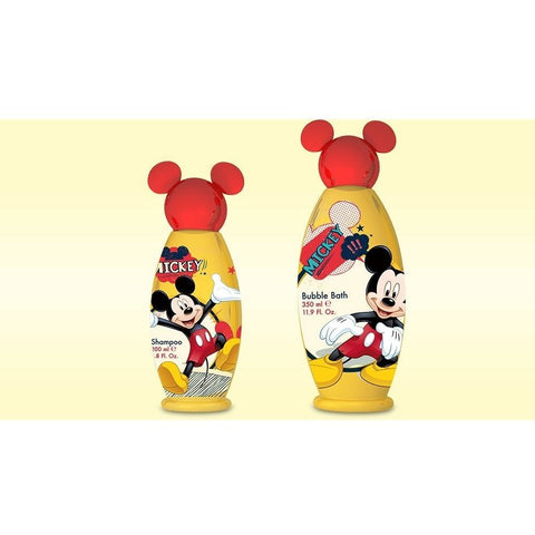 Disney Mickey Mouse Bubble Bath & Shampoo Set | Anielas.com