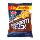 Golden Wonder Transform-A-Snack Brave Beef Flavour Snacks 30g x 30 Bags