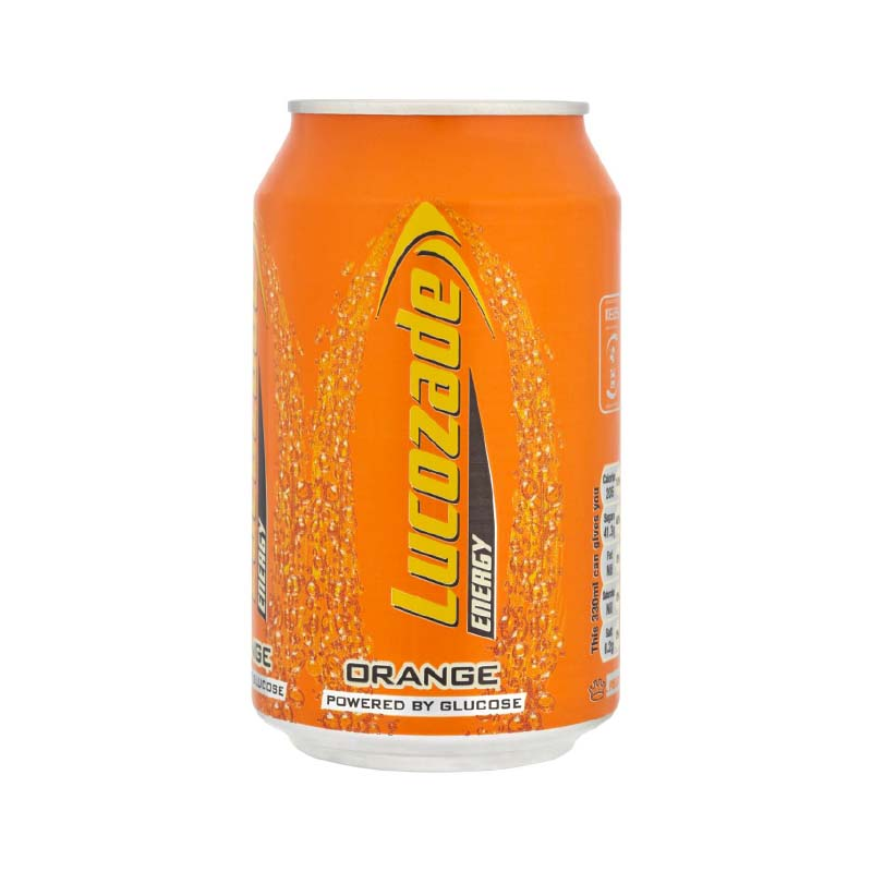 Lucozade Orange 330ml x 24 Cans