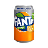 Fanta Orange Zero 24 x 330ml Cans