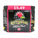 Kopparberg Premium Cider with Mixed Fruit 4% 24 x 330ml Cans