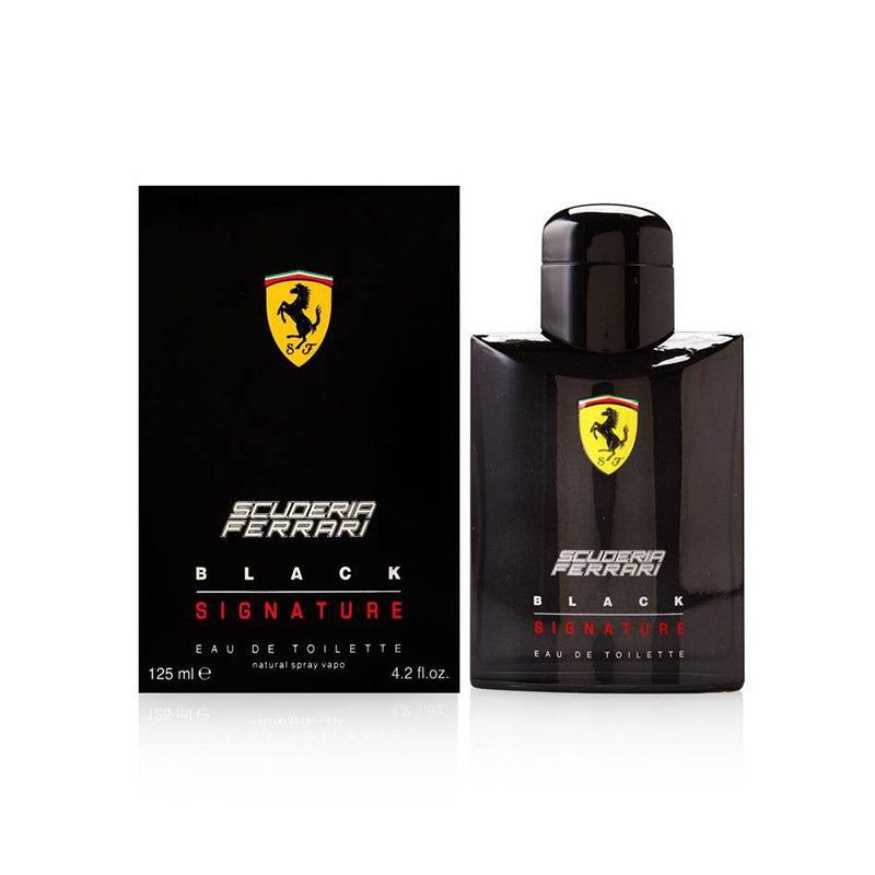 Ferrari Black Signature 125ml EDT Spray NEW PACK