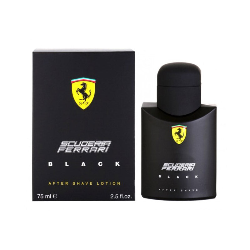 Ferrari Scuderia Black 75ml Aftershave
