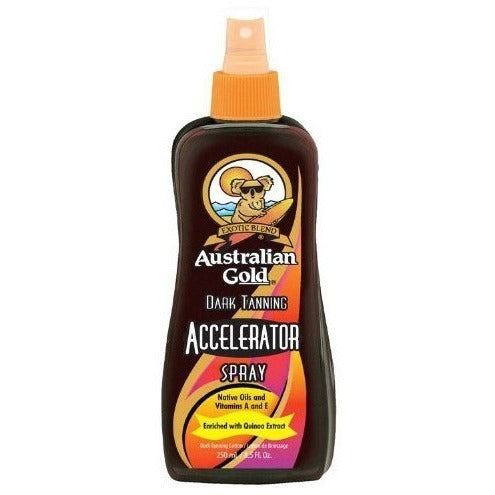 Australian Gold Dark Tanning Accelerator Spray 250ml | Anielas.com