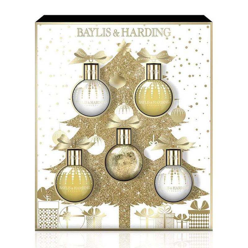 Baylis & Harding Sweet Mandarin and Grapefruit 5 Piece Christmas Gift Set | Anielas.com