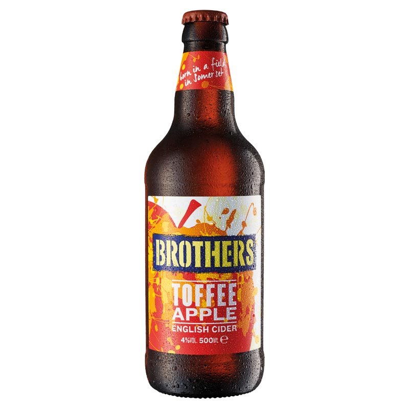 Brothers Toffee Apple Cider - 12 x 500ml | Anielas.com