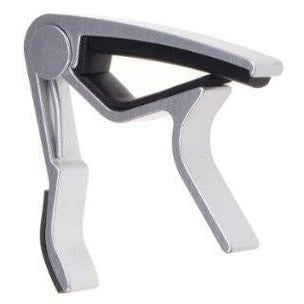 Trigger Capo for Electric and Acoustic Guitars in Silver or Black - Anielas.com