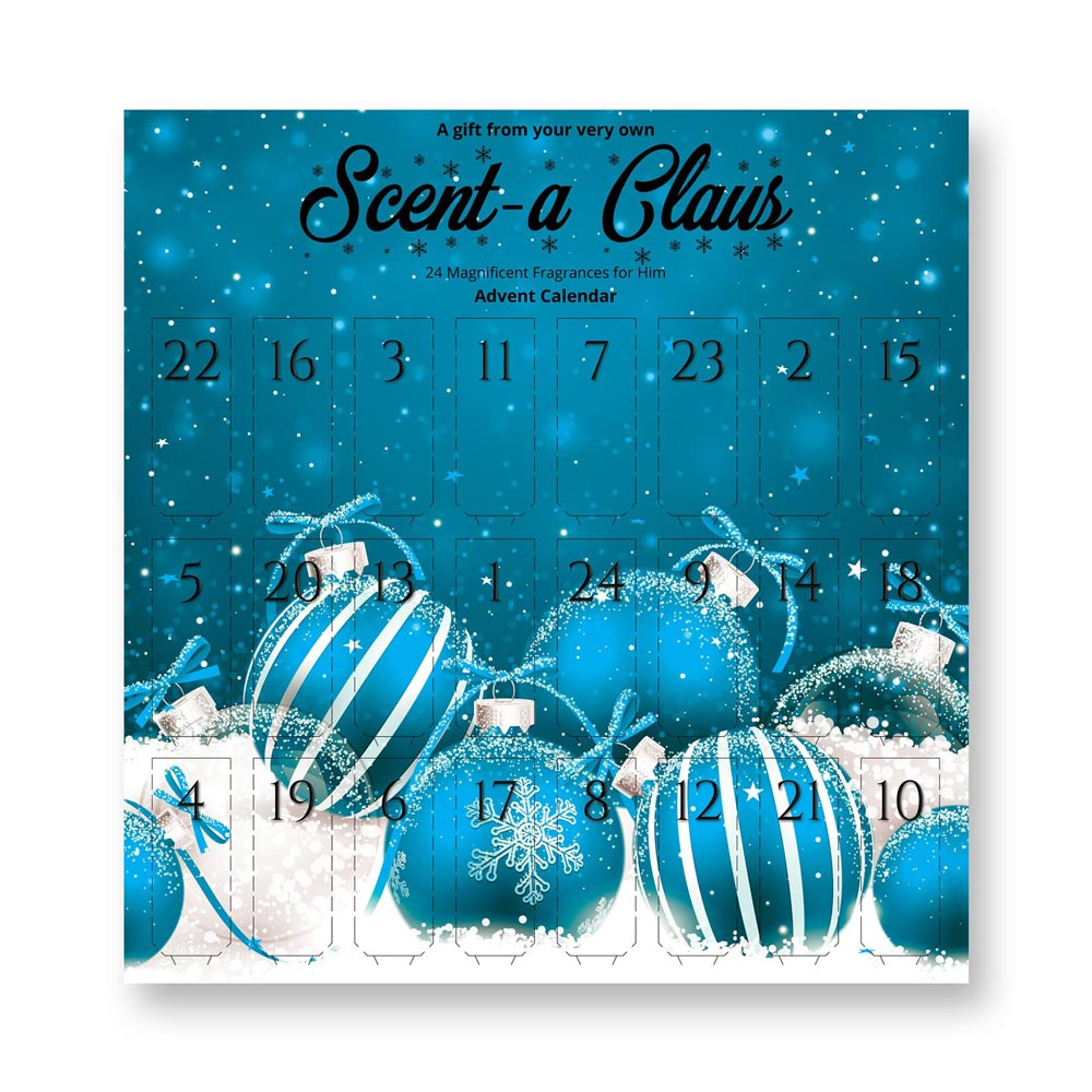 Anielas Fragrance Christmas Advent Calendar for Him - 24 Magnificent Scents