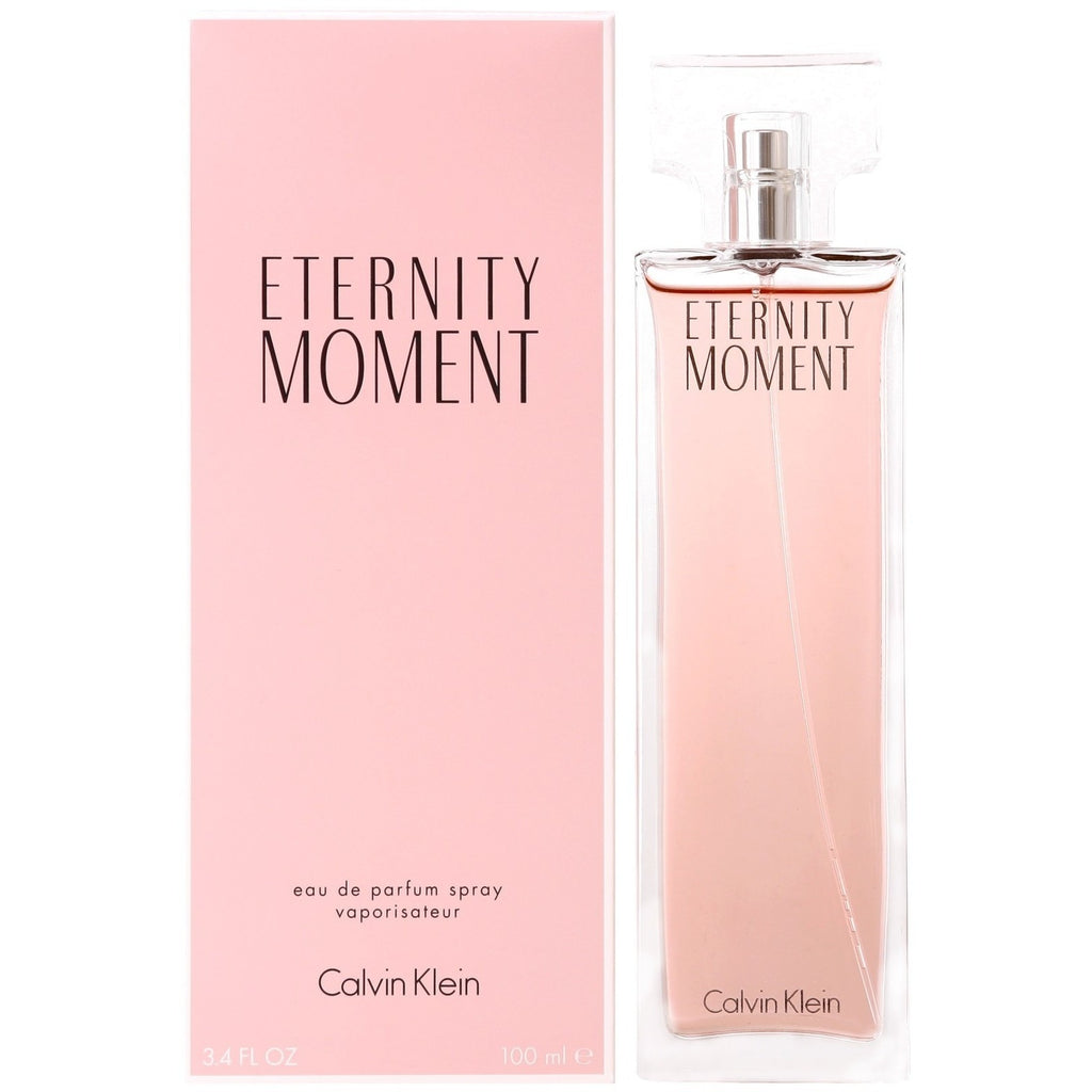 Calvin Klein Eternity Moment Eau de Parfum Spray Special Offer - 100ml | Anielas.com