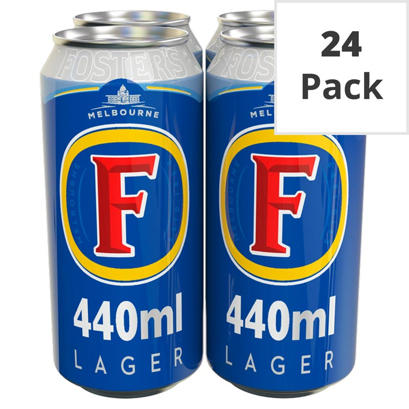 Fosters Golden Lager 440ml - 24 Pack