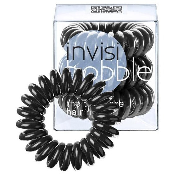 Invisibobble The Traceless Hair Ring 3 Pack - Black or Yellow | Anielas.com