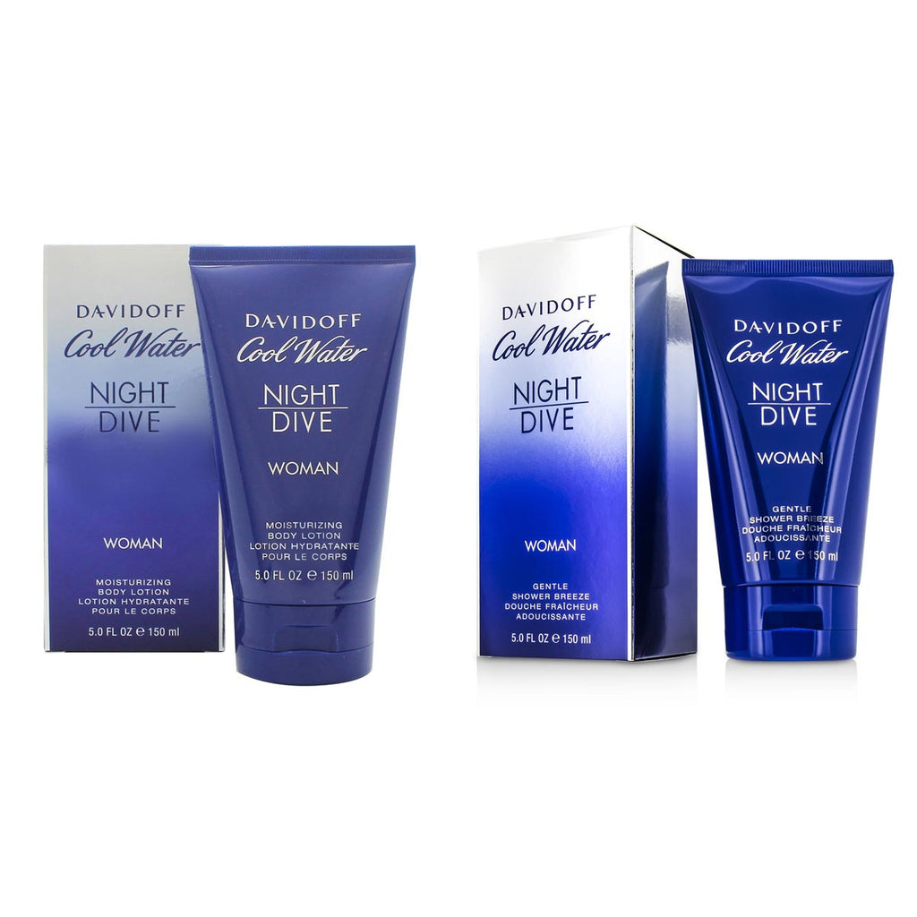 Davidoff Cool Water Night Dive Woman (1xShower Breeze And 1xBody Lotion)