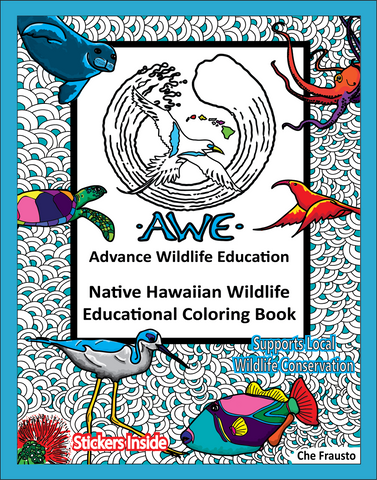 .Wildlife Educational Coloring Book (AWE Hawaiian)