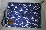 Seabirds Clutch Bag