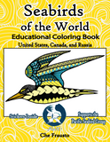 .Wildlife Educational Coloring Book (Seabirds of the World)