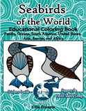 .Wildlife Educational Coloring Book (Seabirds of the World Pacific)